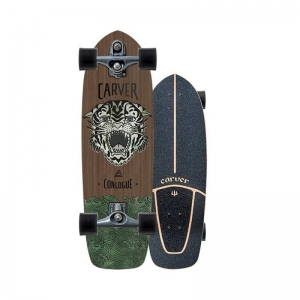 Carverskateboard [카버보드] 29.5〃 Conlogue Sea Tiger Surfskate Complete