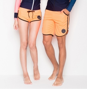 ANCHOR ORANGE COUPLE BOARD SHORT (RP0015)