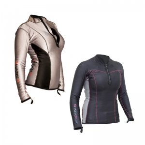 CHILLPROOF Longsleeve Chest Zip (Woman)